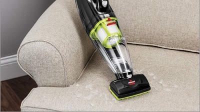 Bissell 1782 Pet Hair Eraser Cordless Hand and Car Vacuum, GreenBlack
