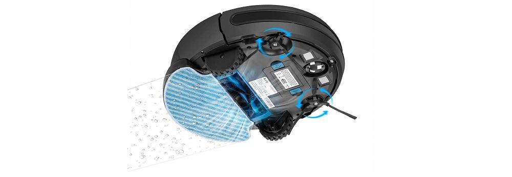 DEENKEE i7 Robot Vacuum Cleaner [Mopping, Sweeping & Vacuuming], Smart Self-Charging Robotic Vacuum