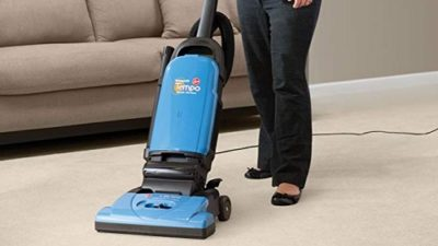 Hoover Vacuum Cleaner Tempo WidePath Bagged Corded Upright Vacuum U5140900 Test
