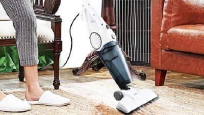 HoLife Corded Lightweight Stick Vacuum Cleaner