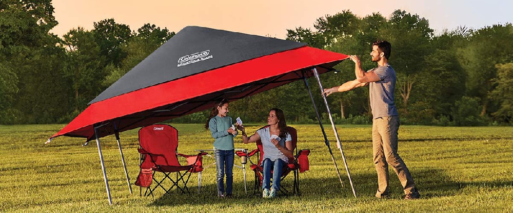 Coleman Expandable Shade Shelter Adjustable Canopy Tent Review