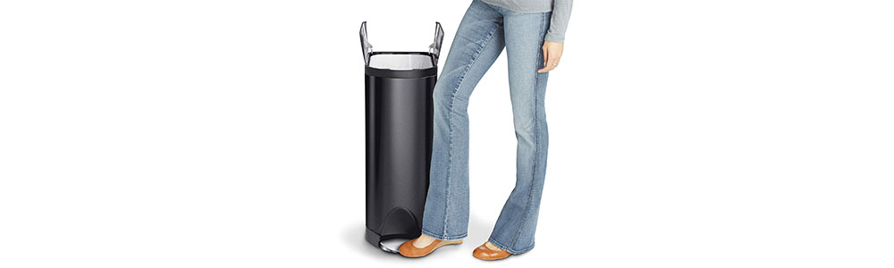 Simplehuman 45 Liter Butterfly Step Trash Can Review