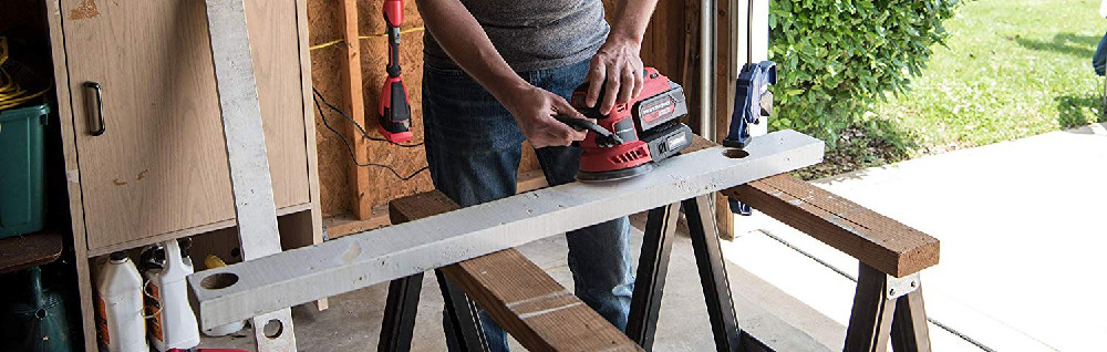 POWERWORKS XB 20V Cordless 5-Inch Orbital Sander Review