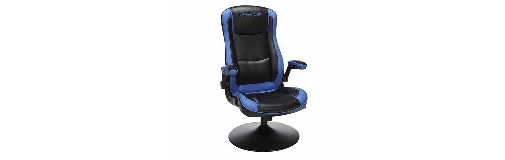 RESPAWN-800 RSP-800-BLK-BLU Racing Style Gaming Rocker Chair