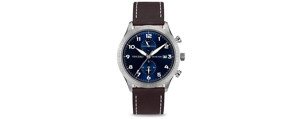 Vincero Luxury Men's Pilot Wristwatch